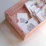 small cards fait main
